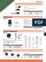Mitutoyo 183-109 data sheet