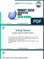 Proposed Smog Tower | A large scale Air Purifier System