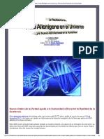 VIDA ALIENIGENA EN EL UNIVERSO Y ADN ACTIVADO A LA HUMANIDAD