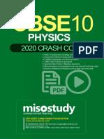Crash Course CBSE Class 10 Sample eBook