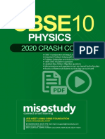 Crash Course CBSE Class 10 Sample eBook