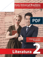 Capa - Literatura 2ª Série