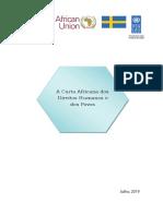 A Carta Africana Dos Direitos Humanos e Dos Povos