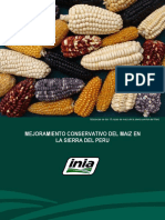 Mejoramiento Conservativo del Maiz