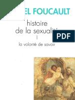 23508600 Foucault Histoire de La Sexualite Vol 1 La Volonte de Savoir