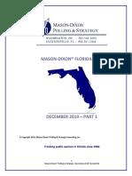 Mason-Dixon Florida Poll on Trump Impeachment