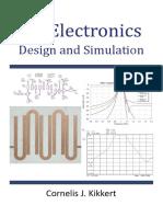 RF Electronics Design and Simulation