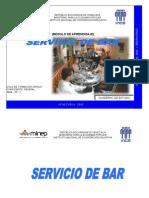 SERVICIO DE BAR MODULO APRENDIZAJE INCE