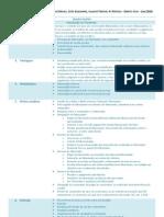 Quadro Sinótico - Factoring e Contrato Eletrônico