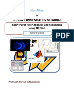 Fabry Perot Filter Analysis and Simulation using MATLAB-Tamir Suliman