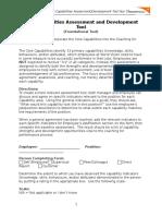 assesement methodolgy