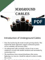 2.2 Underground Cables1