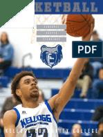2019-20 KCC Men's Basketball Media Guide