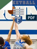 2019-20 KCC Women's Basketball Media Guide