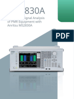 Anritsu - MS2830A Based PMR Solutions