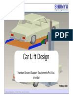 Car Lift FE Analysis Example