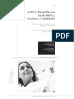 A clinica psicanalitica na saude publica.pdf