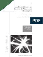 A escuta psicanalitica em um contexto interdisciplinar.pdf