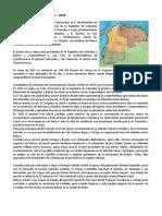 La Gran Colombia 1819
