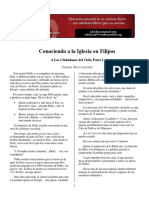 Carta Filipenses estudio  expositivo