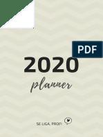 Planner 2020 Seligaprof