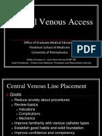 CVC Insertion Overview