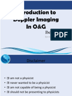 Introduction to Doppler Imaging
