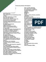 Poema Se professor Hermógenes