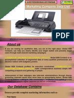 Luxembourg Fax Marketing Company Data List