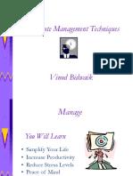 One Minute Management Techniques