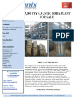 Caustic Soda Plant 27 000 Tpy 186