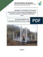 Informe Mantenimiento Del Sap Del Cp de Amaybamba 2019