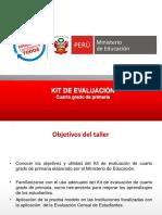 Kit de Evaluación Cuarto Exponer