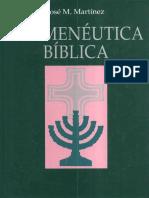 jose-m-martinez-hermeneutica-biblica