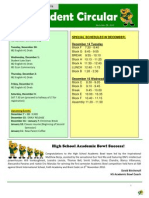 Student Bulletin Nov 26
