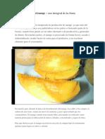 Industrialización del mango