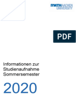 RWTH+Info+Studienaufnahme+Sommersemester+2020