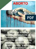 El aborto Exposicion