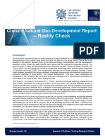Chinas Natural Gas Development Report