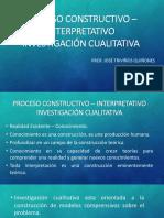 Clase 4 - Proceso Constructivo Interpretativo