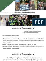 Panorama Sociohistorico Brasileiro - Do Fim Da Ditadura Civil Militar à Falência Do Estado Democrático de Direito