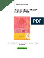 penguin-book-of-hindu-names-by-maneka-gandhi
