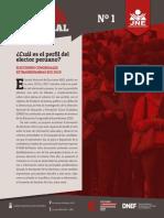 Boletín 1 Perfil Elector 2019 (Versión Actualizada)