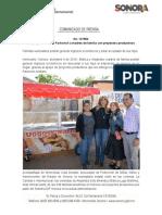 09-12-19 Apoya gobernadora Pavlovich a madres de familia con proyectos productivos
