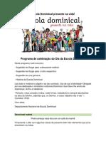 Proposta de LIturgia ED 2016(1)