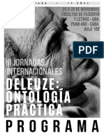Programa Jornadas Deleuze OP3