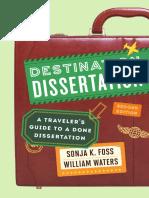Destination Dissertation a travler guide