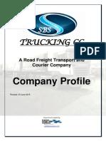 Road Freight Company Profile