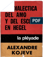 Alexandre Kojeve -La Dialectica del amo y el esclavo en Hegel.pdf