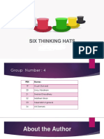 SIX THINKING HATS.pptx